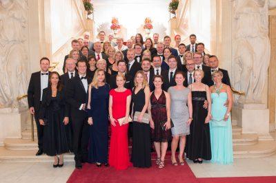Vienna Palace Gala Dinner Staff Team