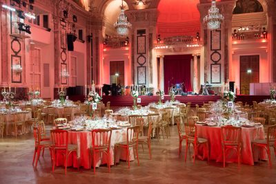 Vienna Palace Gala Dinner Tables And Stage