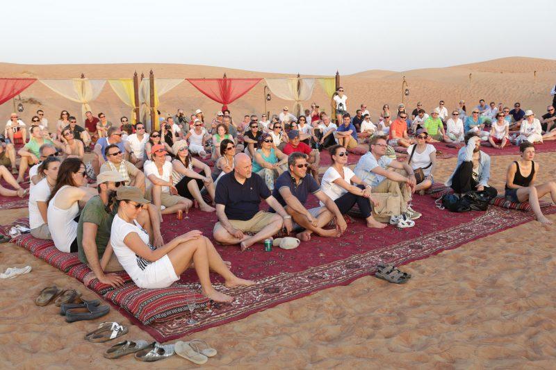 Incentive Travel Event - Desert Mat