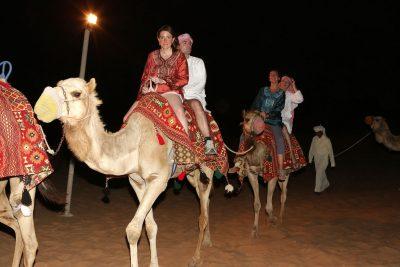Incentive Travel Event In Dubai - Camel Ride