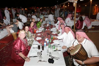 Incentive Travel Event In Dubai - Entertainment At The Table