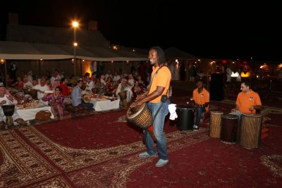 Incentive Travel Event In Dubai - talking drums entertainment