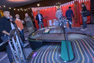 EMEA Mid Year Kick Off Carnival Scaelextric Track