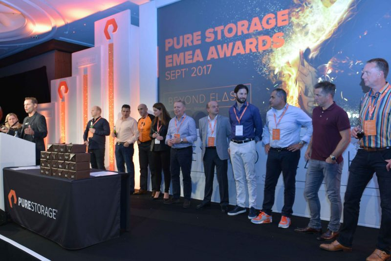 EMEA conference event awards ceremony