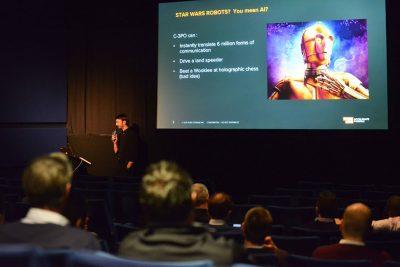 Private Star Wars Screening presentation