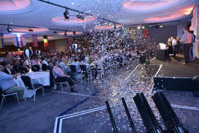 EMEA Mid Year Kick Off Silver Confetti