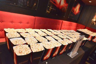 Private Star Wars Screening branded popcorn