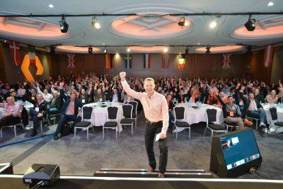 EMEA Mid Year Kick Off Victory Salute