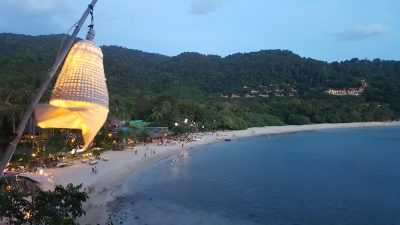 Incentive travel to Thailand evening beach