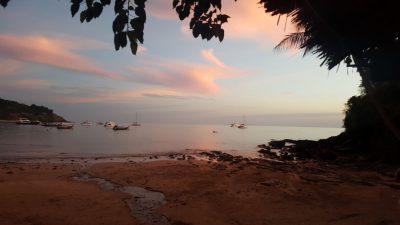 Incentive travel to Thailand evening beach