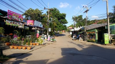 Incentive travel to Thailand shops and street