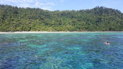 Incentive travel to Thailand snorkeling from boat