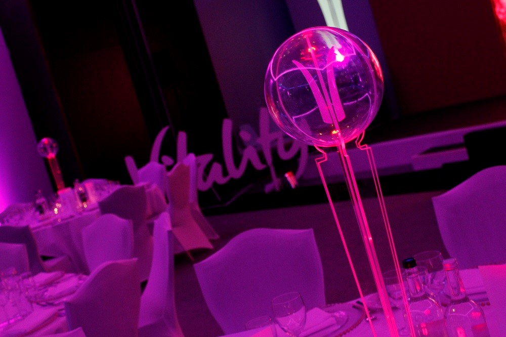 led table centres - HOME